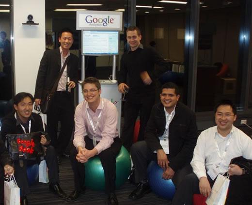 Search Engine Marketing & Google Analytics Featured at Google Geek Night Sydney - Team Photo 1