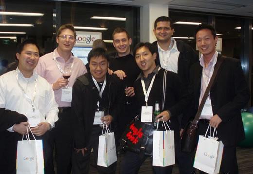 Google Analytics and Search Engine Marketing - Google Geek Night Sydney: Team Photo 2